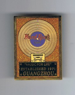 gold record - orange background (Asia clone) | Pins & Badges