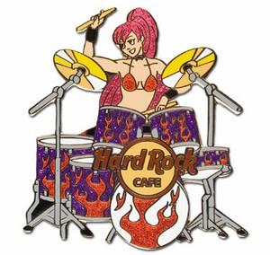 Anime Band Series Drummer Pins And Badges Hobbydb