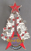 Red flying v guitar and white christmas tree pins and badges ae016d46 88db 4a4f 94f5 357a0bcaac14 medium