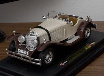 Mercedes benz ssk 1928 model cars hobbydb for Mercedes benz ssk 1928 burago