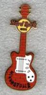 Brick Graffiti Wall Guitar   Pins & Badges