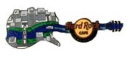 Mississippi River Guitar   Pins & Badges