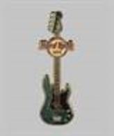 Fender Green Guitar  | Pins & Badges