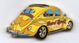 Yellow Car w/Sun Roof and Logo/Variation | Pins & Badges