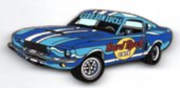Car Series - Blue 1967 Ford Shelby Mustang/Variation | Pins & Badges