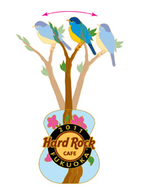 Save the planet   guitar with blue bird pins and badges 03f81bef b339 42ca a9a9 0cc10a0560c0 medium