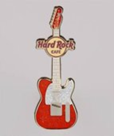 Fender Holiday Red Guitar | Pins & Badges