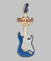 Fender Holiday Blue Guitar | Pins & Badges