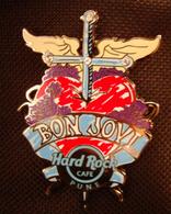Signature Series 26 - Bon Jovi Heart (Clone)   Pins & Badges