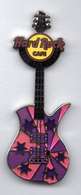 Pink and Purple Guitar  | Pins & Badges