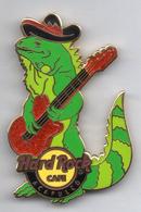 Iguana Playing Guitar | Pins & Badges