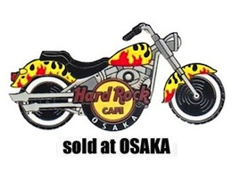 Starter Pin #4 - Flamed Motorcycle | Pins & Badges