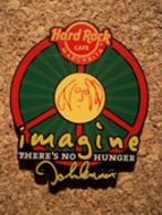 John Lennon 'Imagine There's No Hunger' 'W.H.Y.' | Pins & Badges