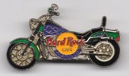 Purple and Green Motorcycle/Prototype | Pins & Badges