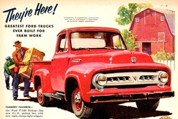 They're Here For 1953! | Print Ads