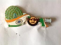 Peacock guitar | Pins & Badges