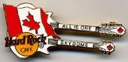 Double neck guitar with canadian flag pins and badges ca52aad0 0ccb 4290 b011 a3c5b8fadde5 medium
