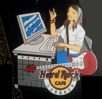 Computer Girl | Pins & Badges