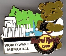 National Park Bear - World War II Memorial | Pins & Badges