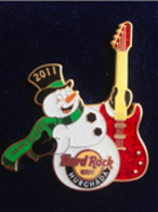 Snow man with white guitar%250a%250a pins and badges a5b2dbaf 4ae2 434f 8aee b498d4638205 medium