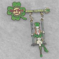 Girl swinging from shamrock guitar pins and badges a056ee80 454a 44dd 86eb e97cf6408d2b medium