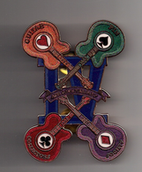 Guitar pin collectors society   4th anniversary   copper   mesh  pins and badges 4fbe11c6 9fbe 469e a964 198095d199a0 medium