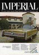 Imperial If You Want More Than Luxury In Your Luxury Car | Print Ads