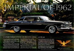 First Showing Imperial Of 1962 | Print Ads