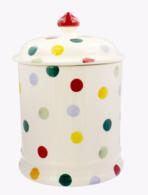 Polka Dot 2 Pint Storage Jar - Emma Bridgewater | Ceramics | Polka Dot 2 Pint Storage Jar