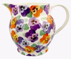 Purple Pansy 6 Pint Jug - Emma Bridgewater | Ceramics | Purple Pansy 6 Pint Jug