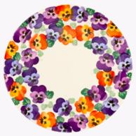 Purple Pansy Serving Plate - Emma Bridgewater | Ceramics | Purple Pansy Serving Plate
