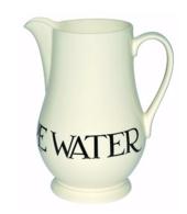 Black Toast Water Jug - Emma Bridgewater | Ceramics | Black Toast Water Jug
