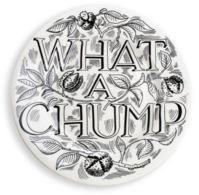 "Feasting What A Chump 8 1/2"" Plate - Emma Bridgewater | Ceramics | What a Chump Plate"