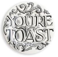 "Feasting You're Toast 8 1/2"" Plate - Emma Bridgewater | Ceramics | You're Toast Plate"