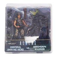 Corporal Dwayne Hicks Vs. Xenomorph Warrior   Action Figure Sets