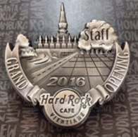 3-D Grand Opening 2016 Staff Pin | Pins & Badges