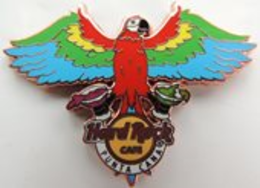Parrot holding Margaritas | Pins & Badges