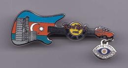 Flag Guitar | Pins & Badges