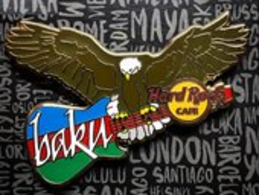 Eagle with Guitar | Pins & Badges