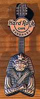bronze Pharaoh Mask 3D guitar   Pins & Badges