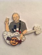 Virgil LaFerney Club Ambassador - Yellow Guitar Error | Pins & Badges