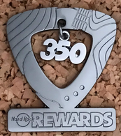 Award for 350 Cafe Visit - Milestone Rewards. | Pins & Badges