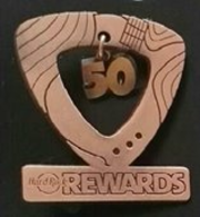 Award for 50 Cafe Visit - Milestone Reward | Pins & Badges