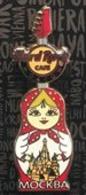Matryoshka Guitar | Pins & Badges