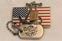 Military Tag Series | Pins & Badges