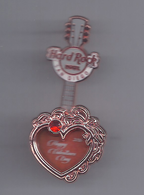 Valentine's Day 2016 - Heart Guitar pin | Pins & Badges