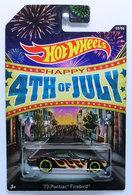 '73 Pontiac Firebird | Model Cars | HW 2014 - 4th of July 3/6 - '73 Pontiac Firebird - Black - Kroger Exclusive