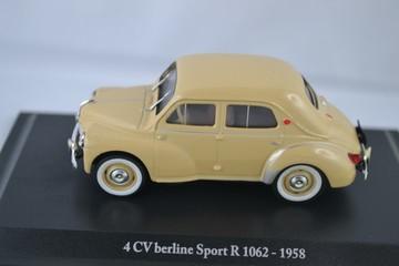1958 Renault 4CV Sport R1062   Model Cars