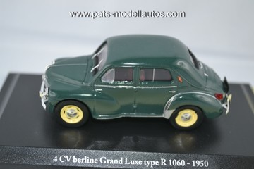 1950 Renault 4CV Grand Luxe R1060 | Model Cars
