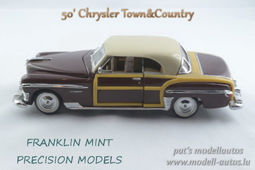 1950 Chrysler Town & Country | Model Cars